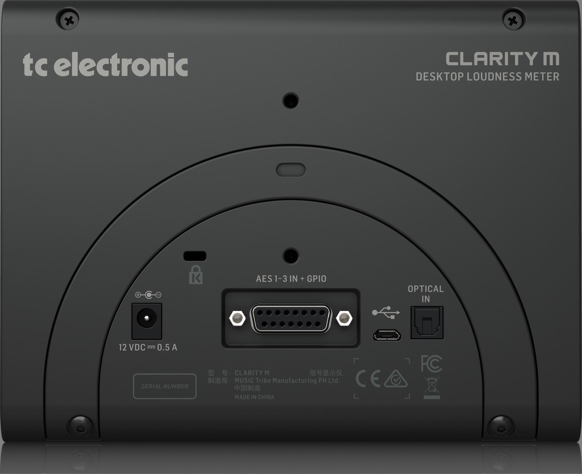 TC-Electronic CLARITY M - Signaalprocessor