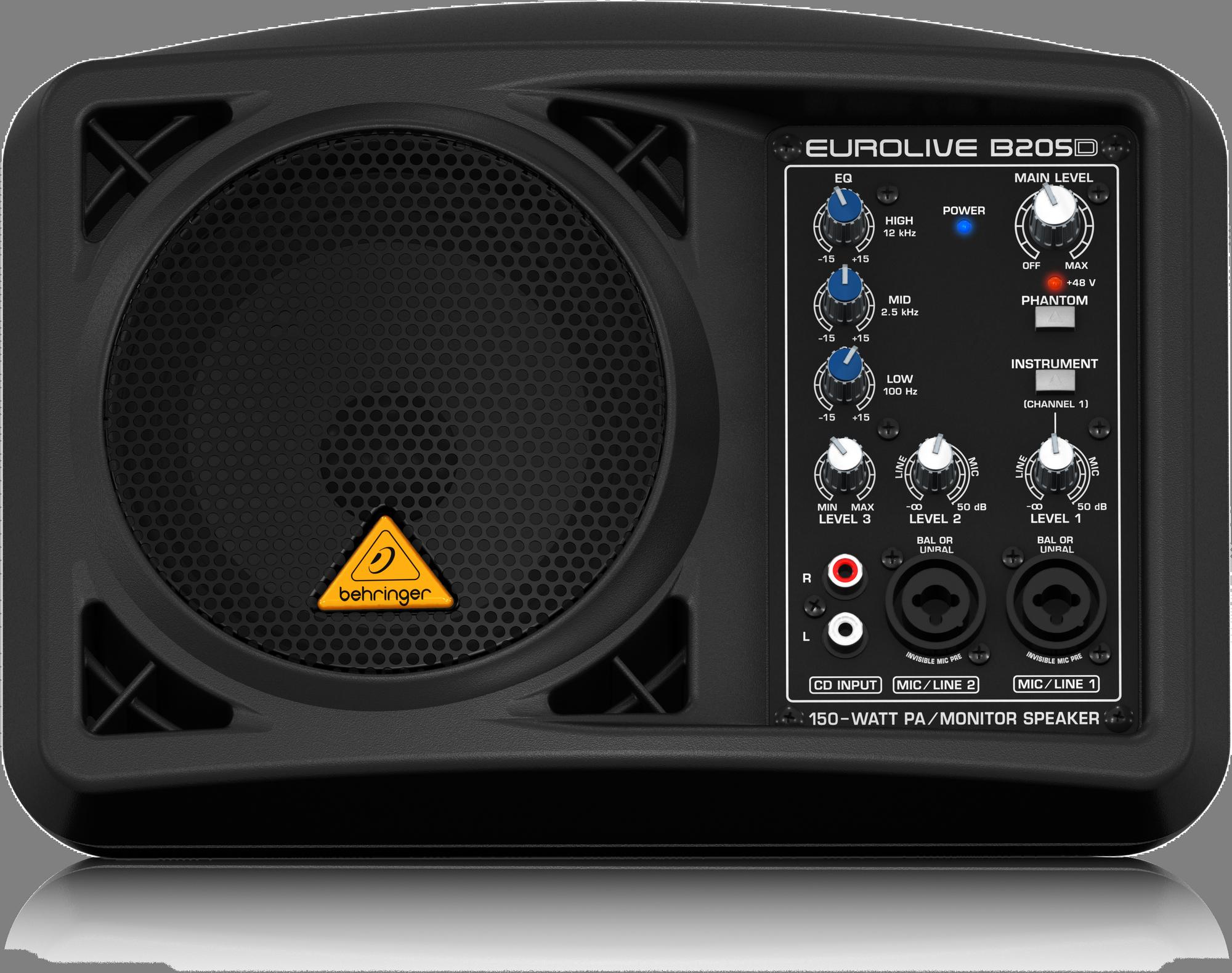 Behringer B205D Active loudspeaker