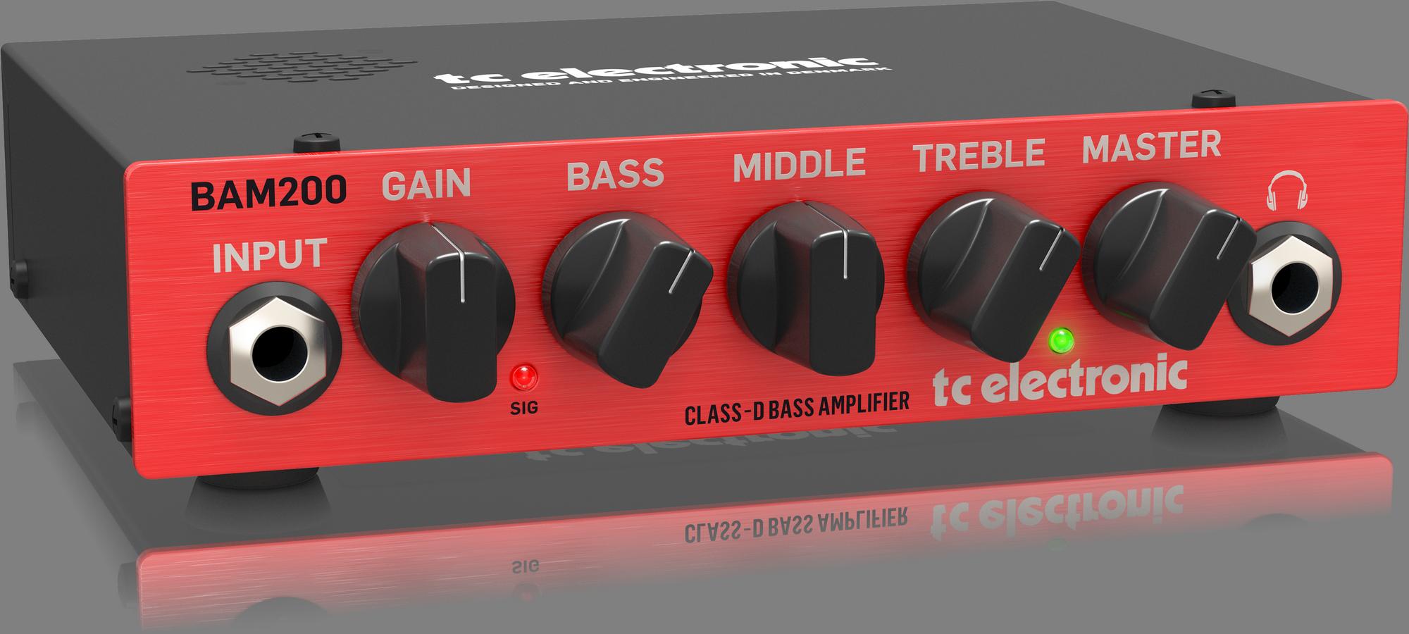 TC-Electronic BAM200 - Basgitaar topversterker