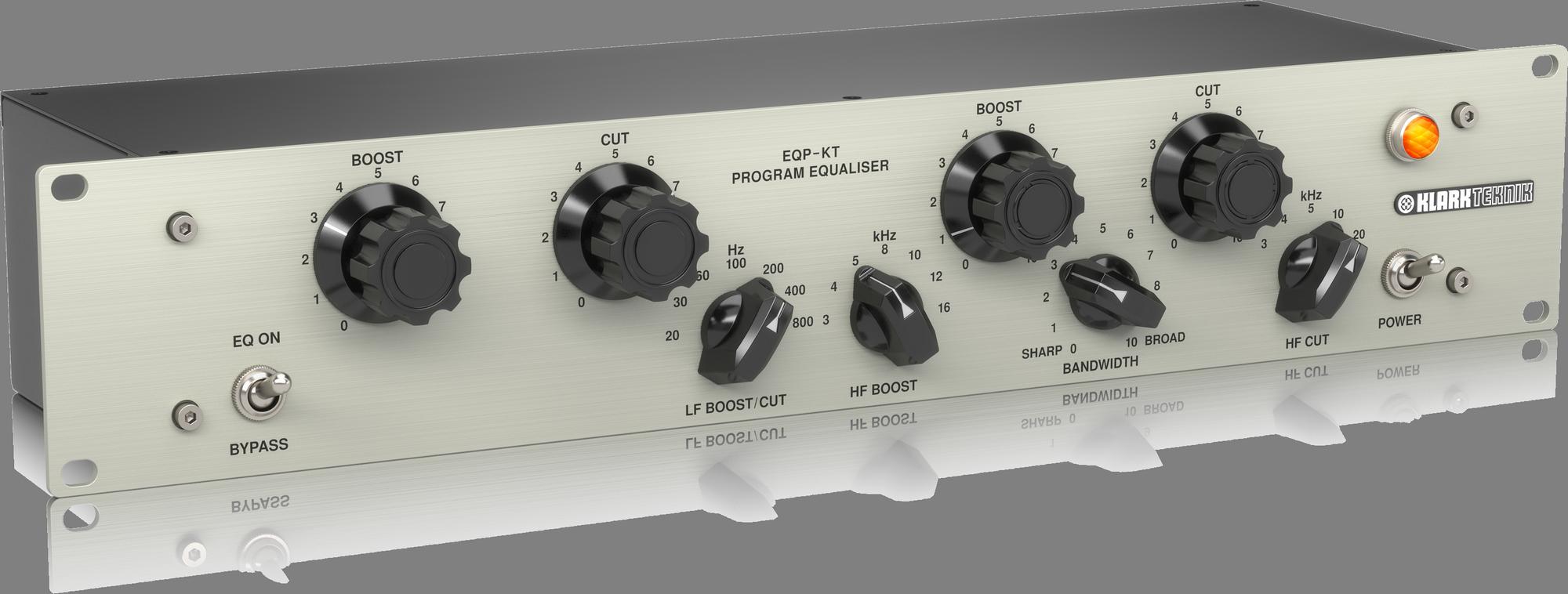Klark Teknik EQP-KT Tubes loaded Vintage Sound Equalizer with Midas transformers