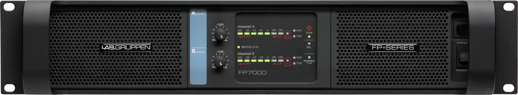Lab Gruppen FP 7000 Amp 2x3500W/2ohm SP 230V EU