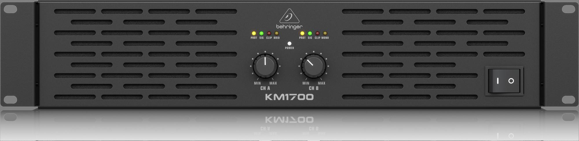 Behringer KM1700 - Power amplifier