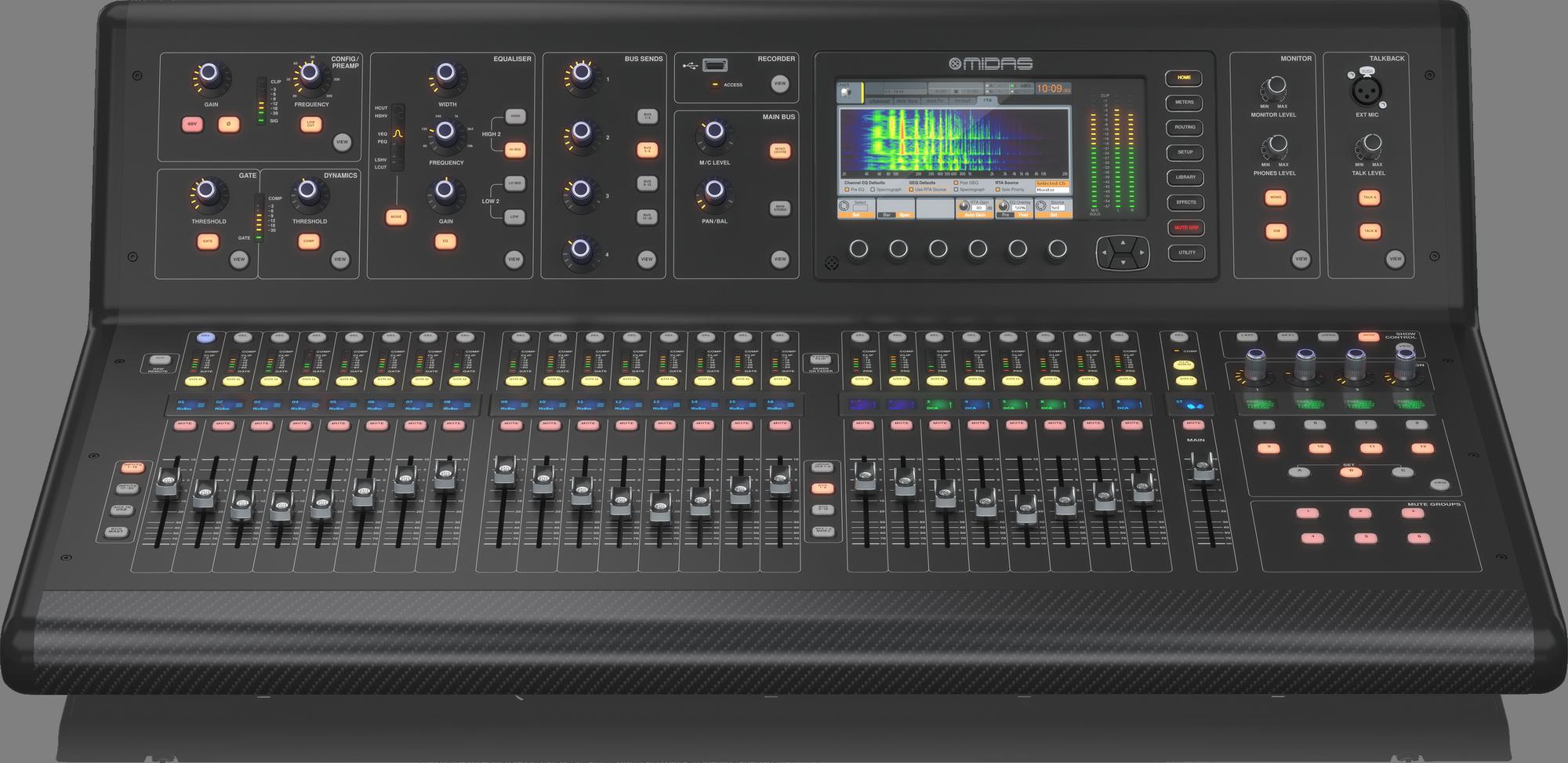 """Midas M32-LIVE  """"Edition 2"""" Consoles De Mixage Numèriques"""