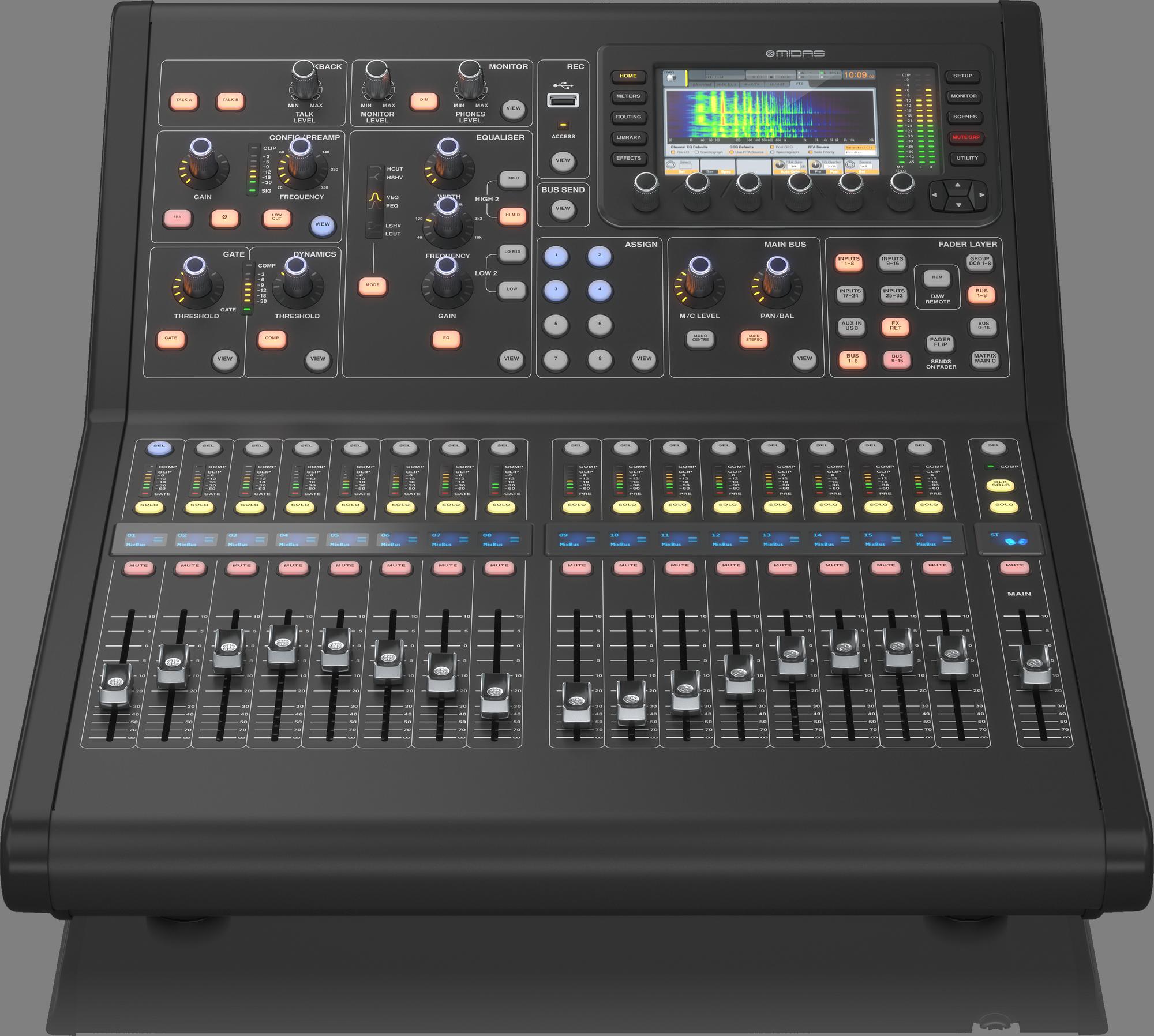 Midas M32R LIVE  -  Consoles De Mixage Numèriques