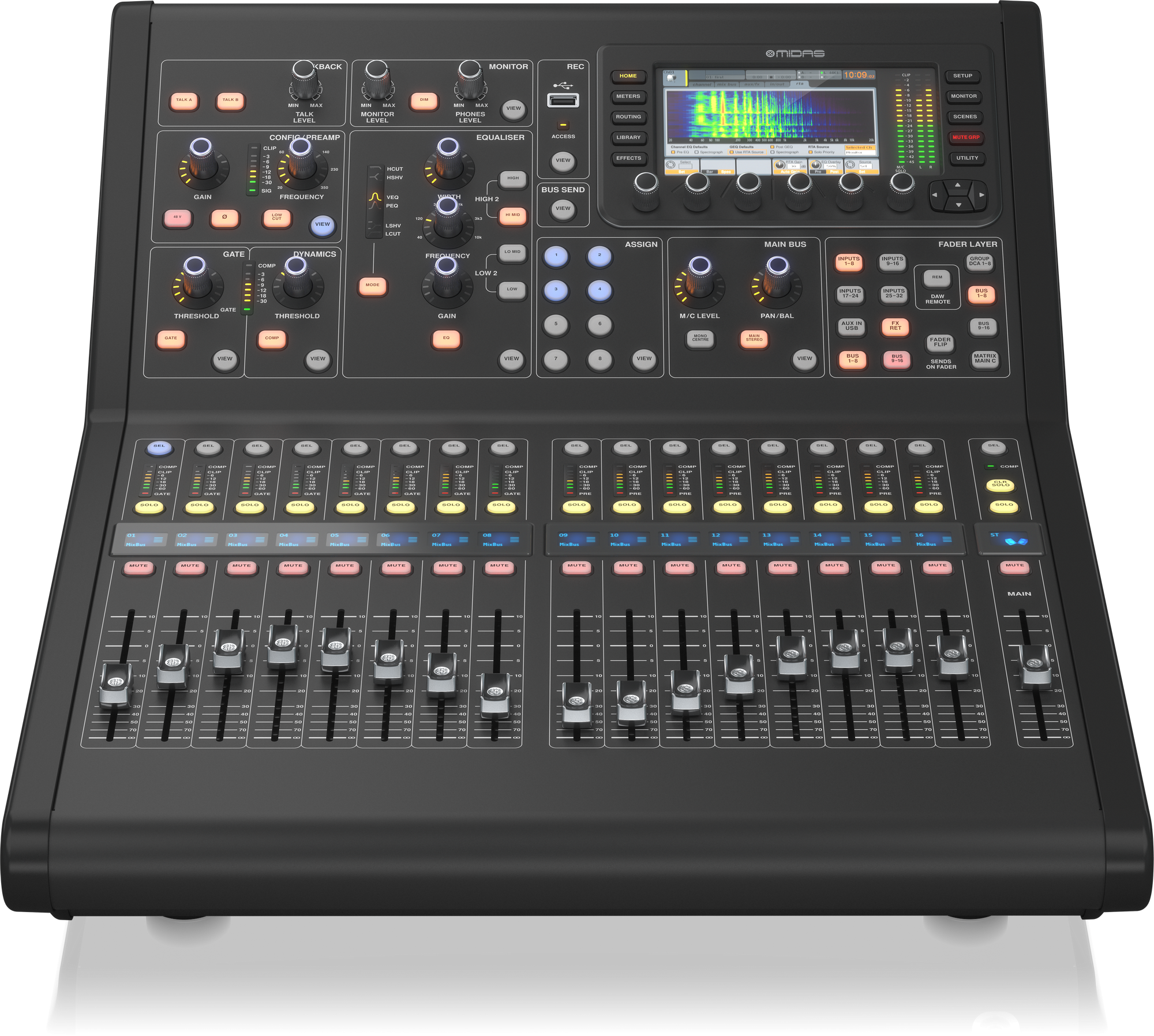 Midas M32R LIVE  -  Digital Mixing console
