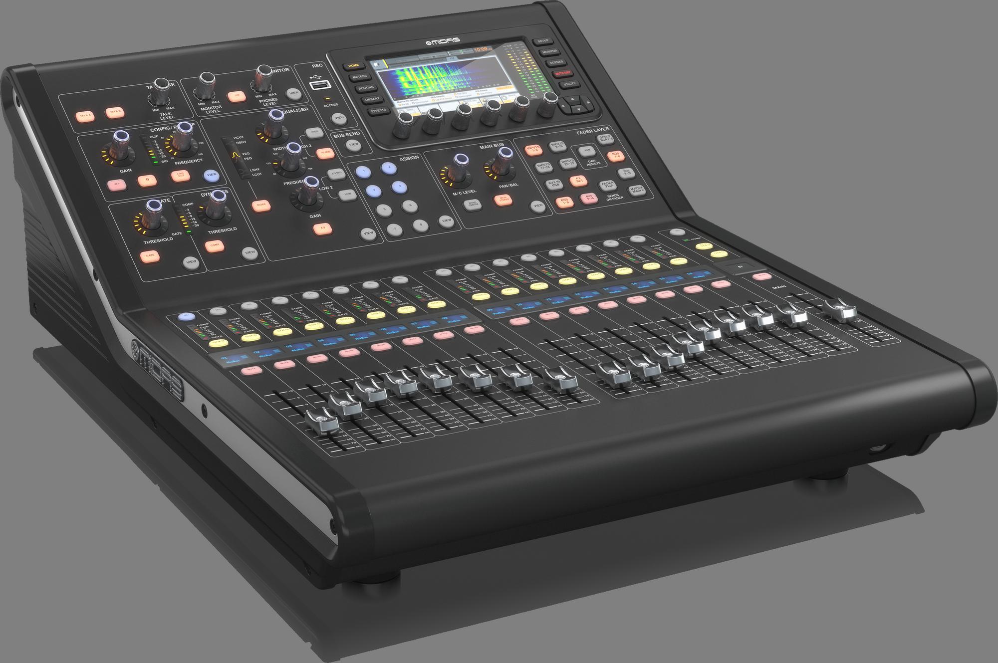 Midas M32R LIVE -  Digitaal Mengpaneel