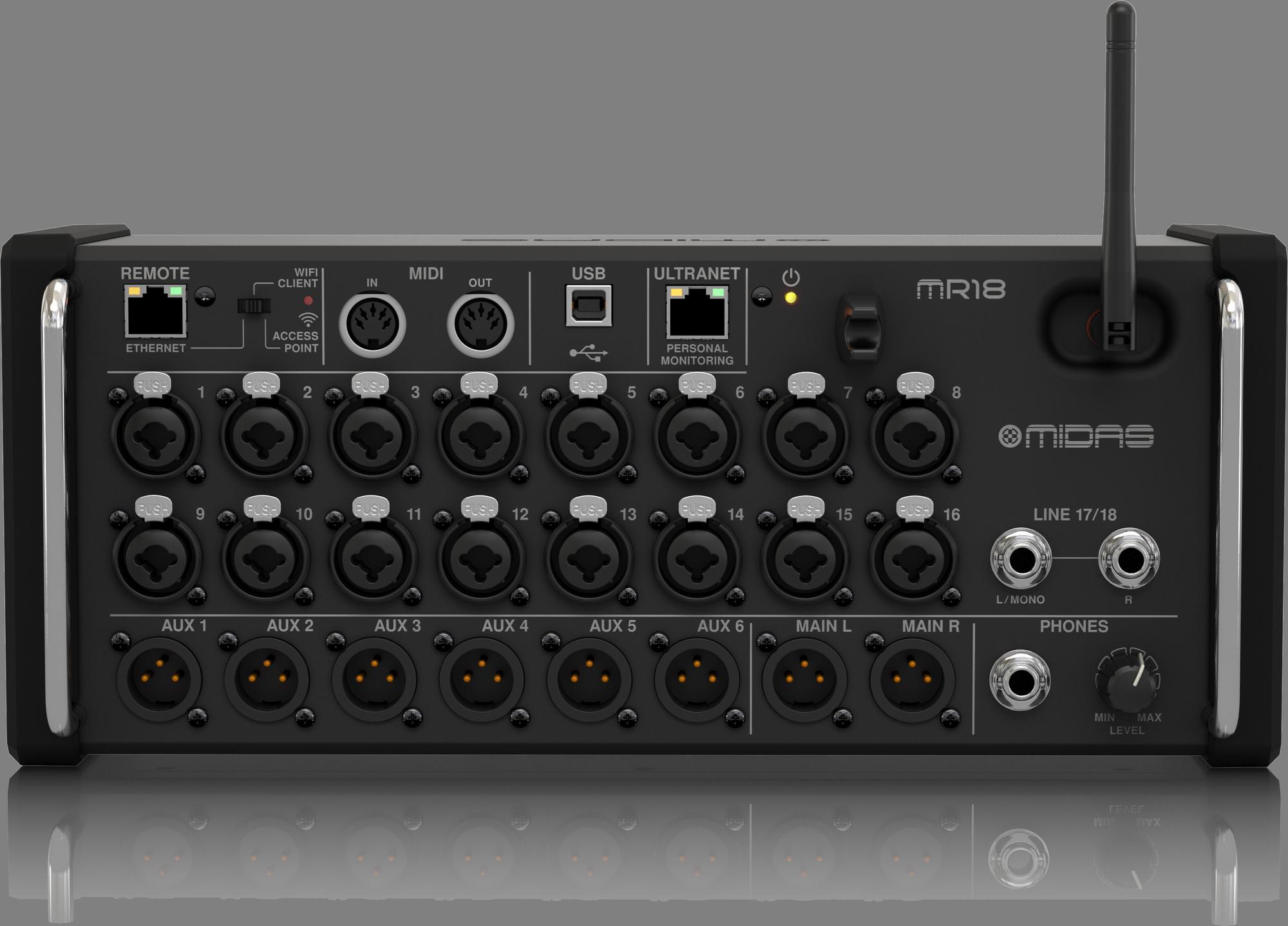 Midas MR18 - Digital Mixer