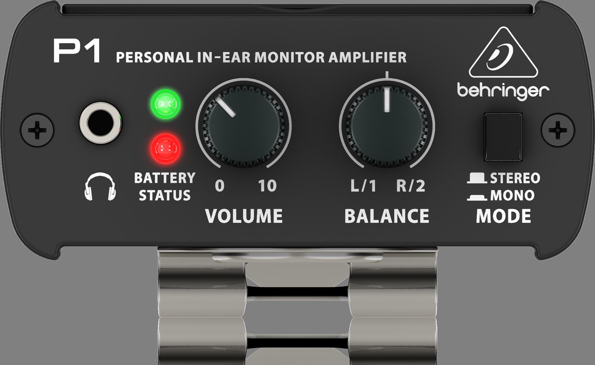 Behringer POWERPLAY P1 In-Ear Monitor Amplifier