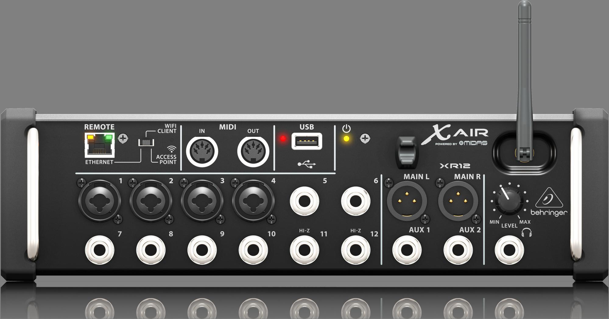 Behringer X Air XR12 - Digitale Mixer