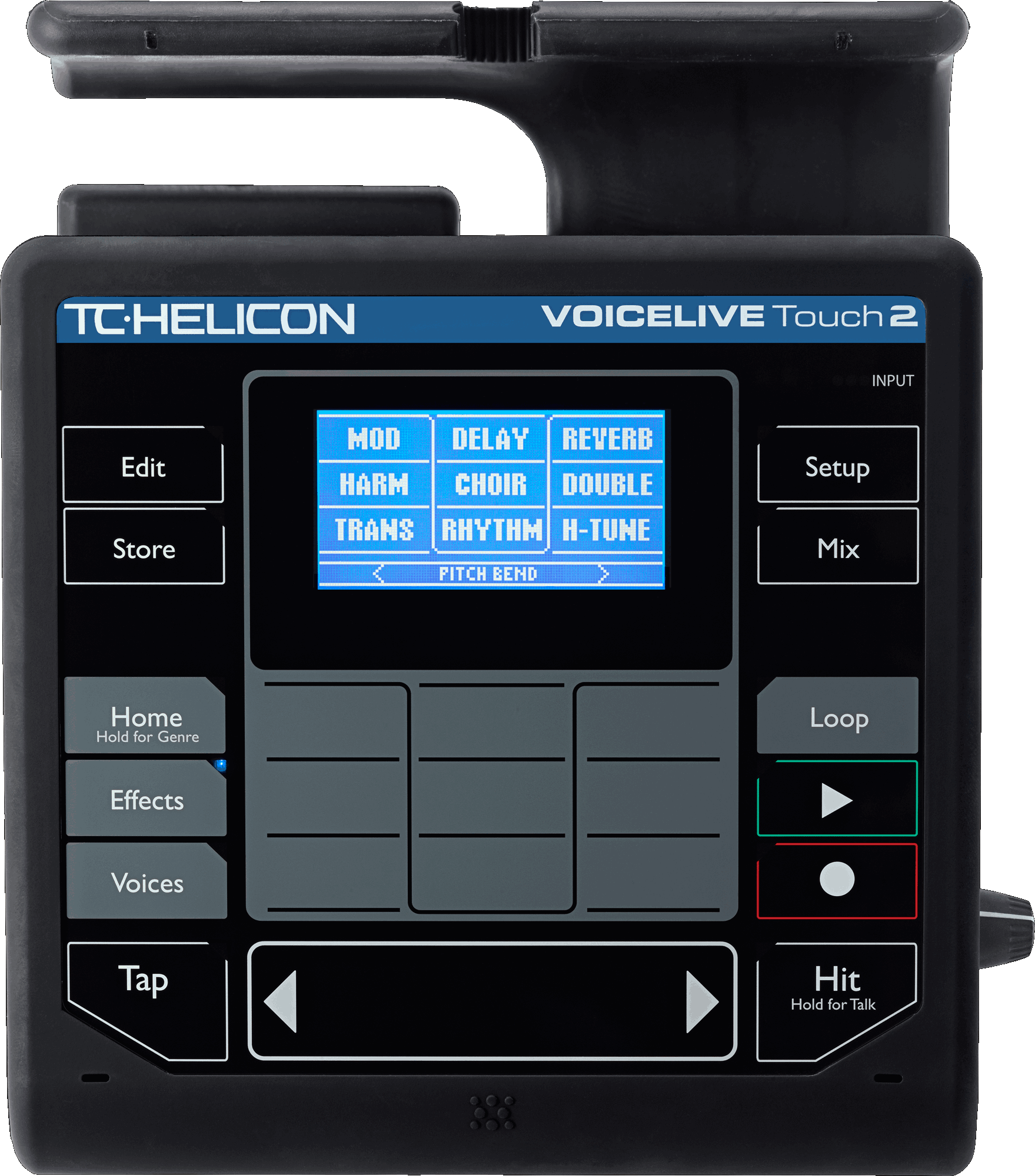 TC Helicon VOICELIVE TOUCH 2 Stem & Microfoon effect processor