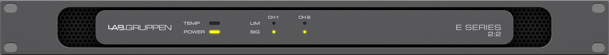 Lab Gruppen E 2:2 AMP 2X100W/8OHM