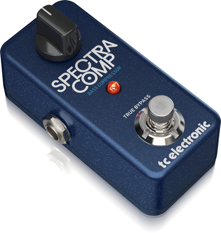 TC-Electronic SPECTRACOMP BASS COMPRESSOR - Compact Stompbox