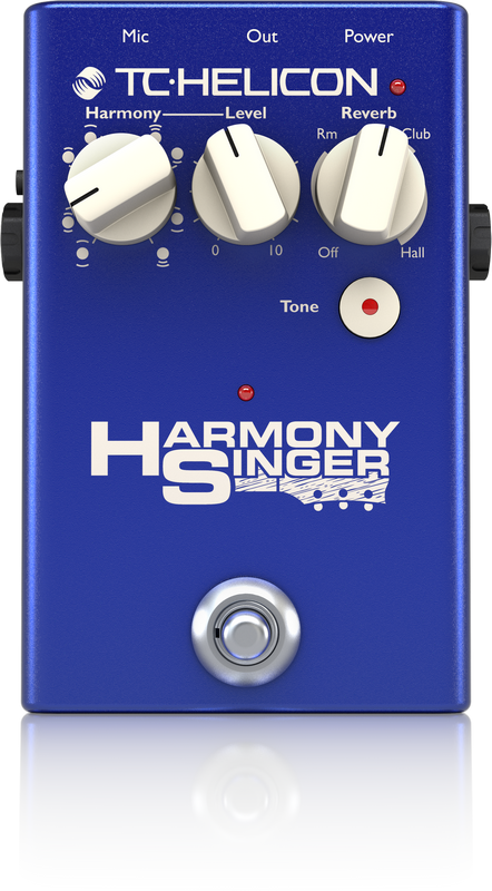 TC Helicon Harmony Singer 2 Vocal & Microphone Effect processor