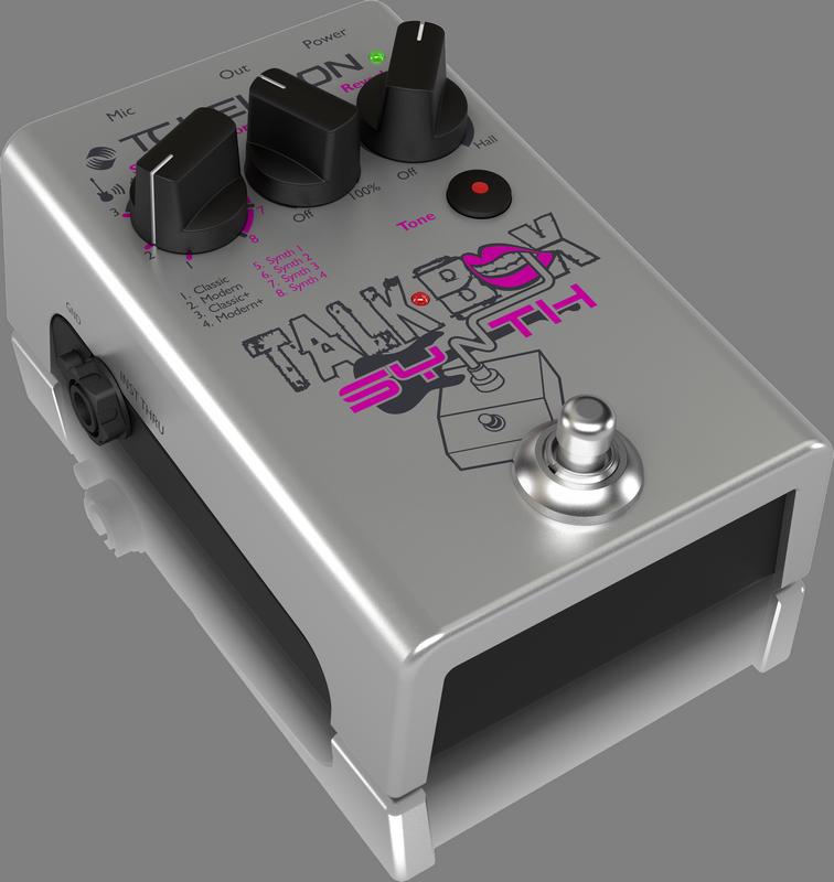 TC Helicon Talkbox Synth - De stombox die het beste uit je stem haalt.