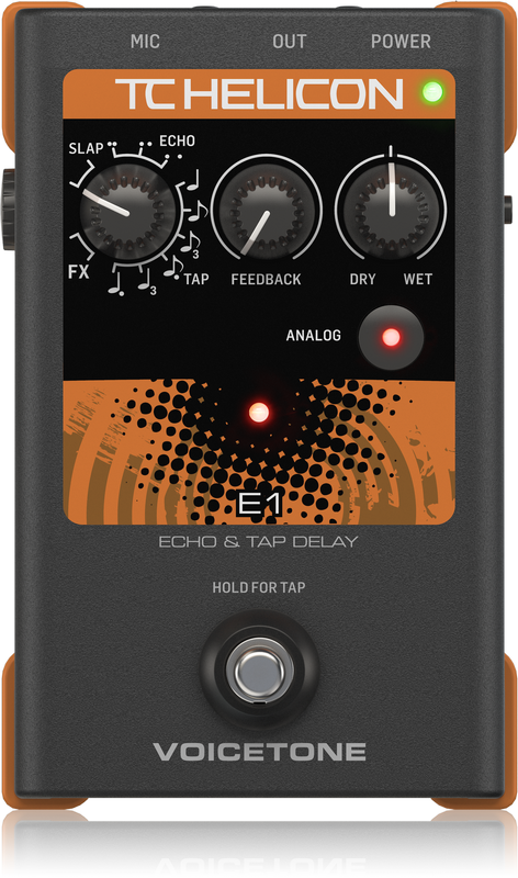 TC Helicon VOICETONE E1 - Stem effectpedaal