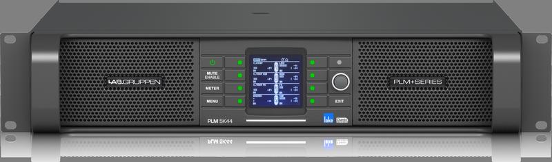 Lab Gruppen PLM 5K44 DSP Amp 4x1250W/4ohm EU+US
