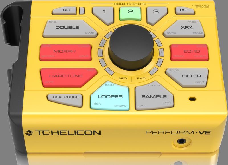 TC Helicon PERFORM VE Vocal Manipulator