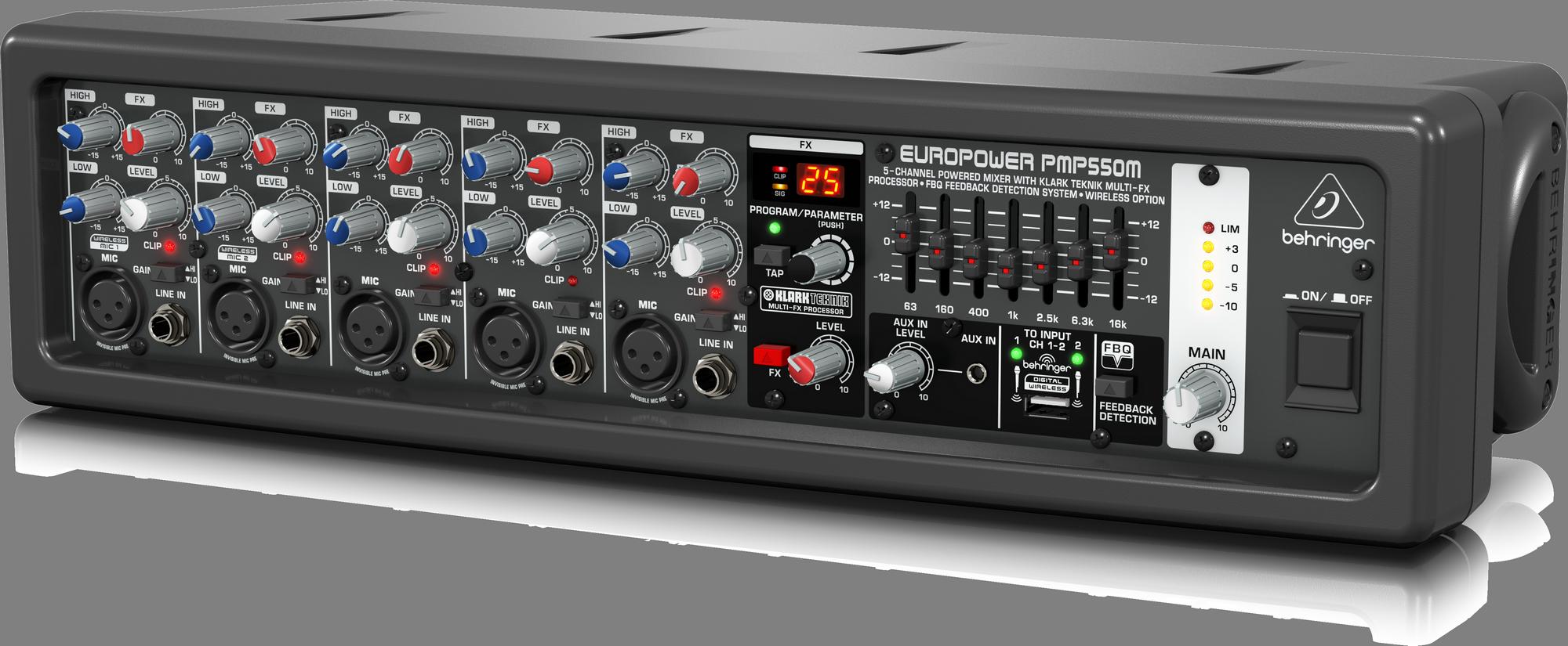 Behringer PMP550M Console