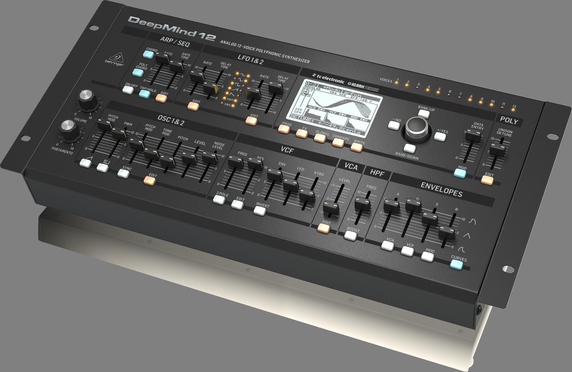 Behringer DeepMind 12D - Analoge synthesizer