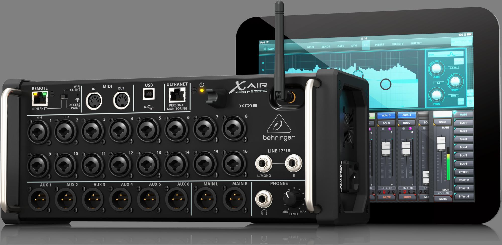 Behringer X Air XR18 Digitale mixer