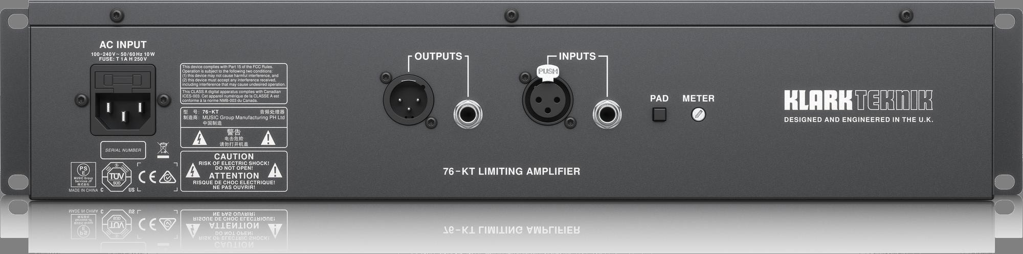 Klark Teknik 76-KT Compressor