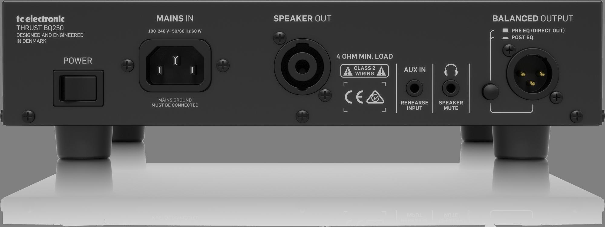 TC-Electronic BQ250 - Head Amplifier bass guitar