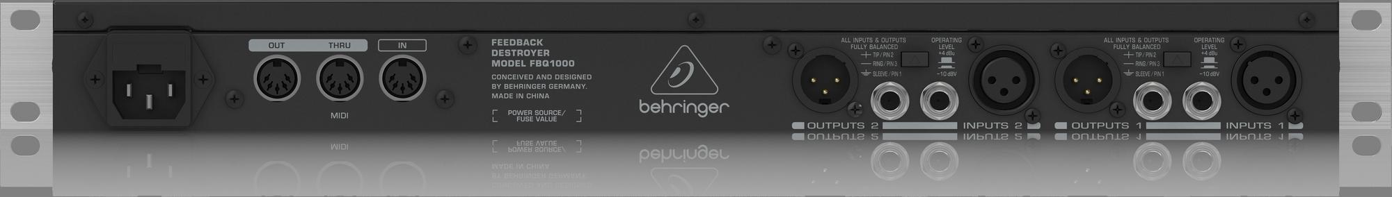 Behringer FBQ1000 Feedback Destroyer