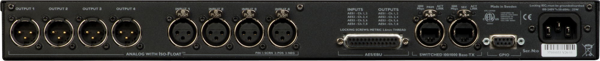 Lake LM 44 Loudspeaker Management Processor