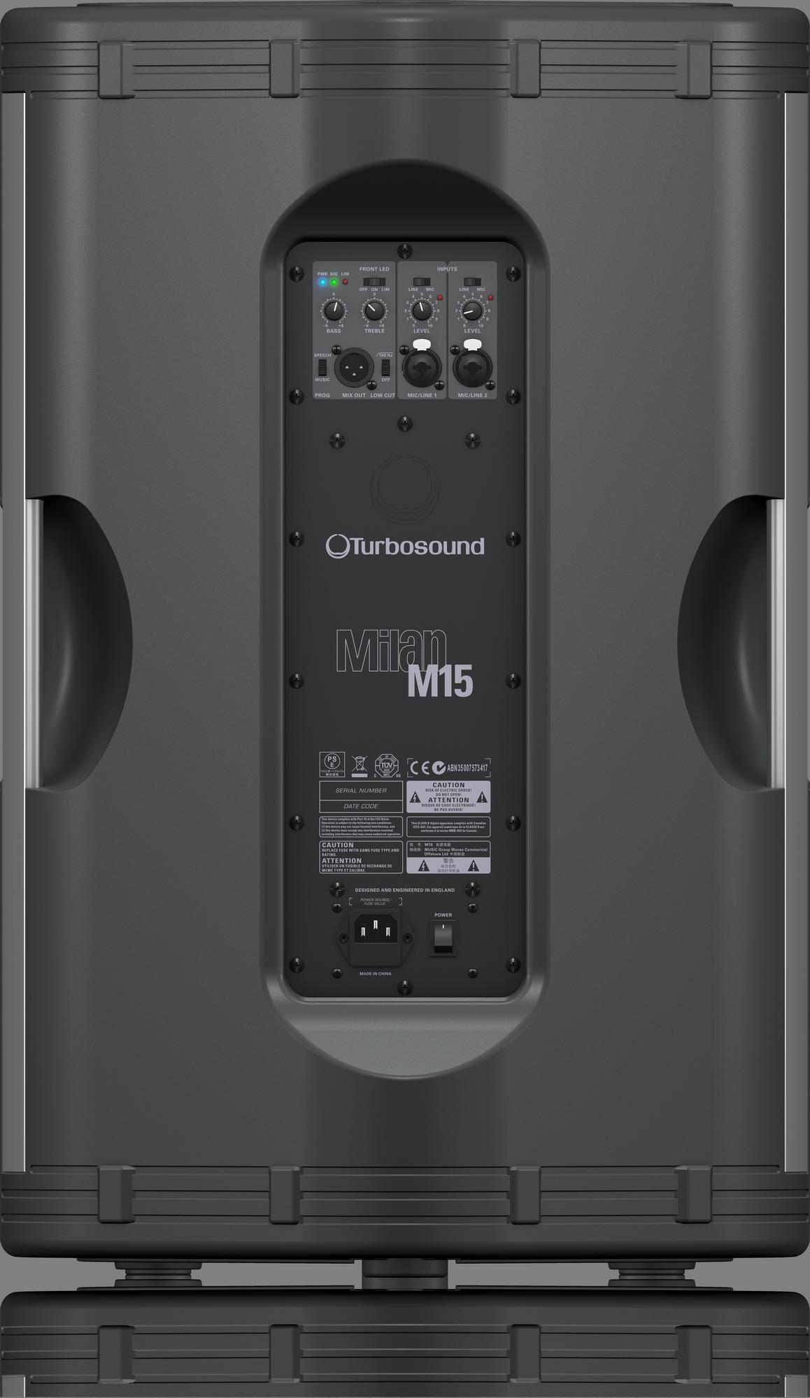 Turbosound  Milan M15 -  Powered Loudspeaker