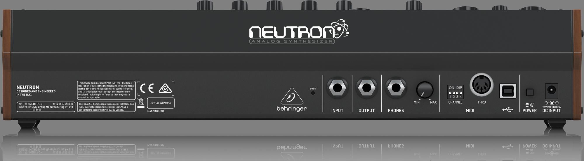 Behringer NEUTRON - Parafonische/Semi modulaire analoge synthesizer
