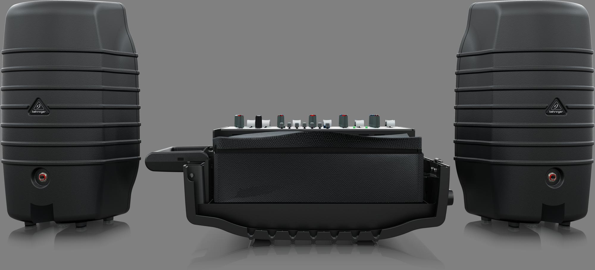 Behringer PPA200 Compact Geluidssysteem