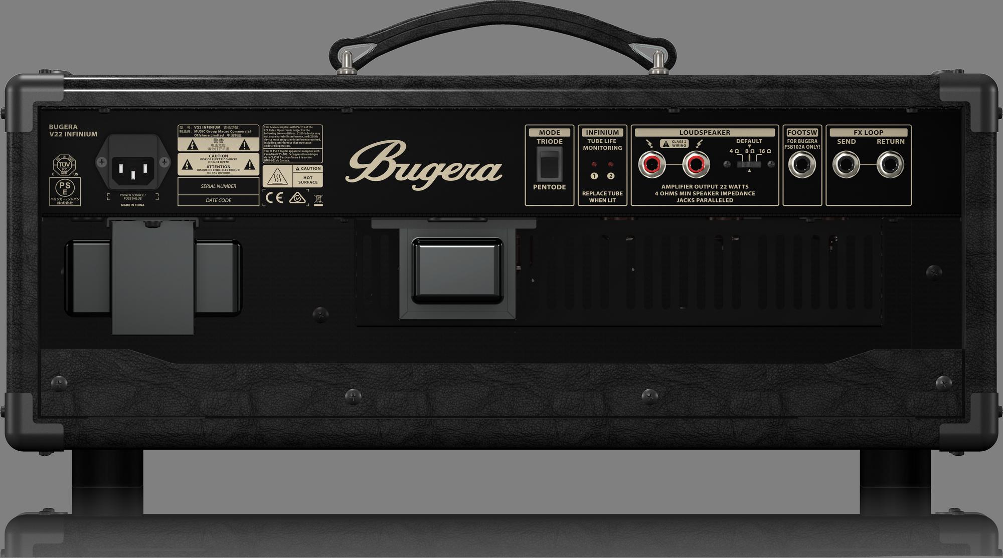 Bugera V22HD INFINIUM - Vintage Gitaar versterker