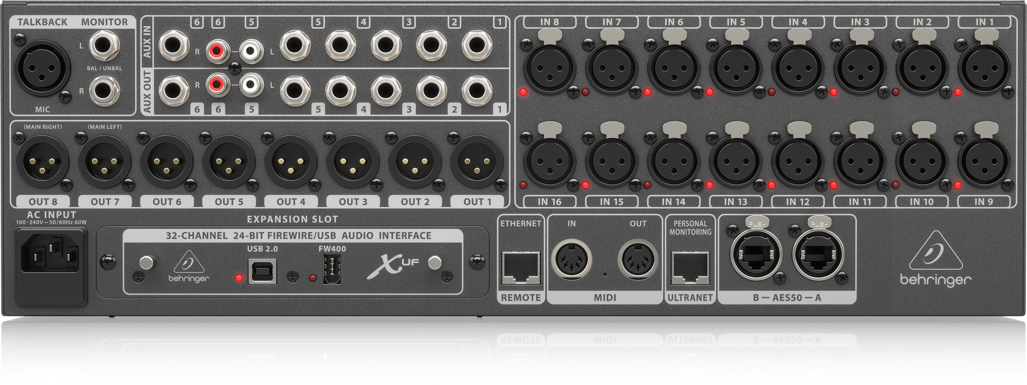 Behringer X32 RACK - Digital Mixers