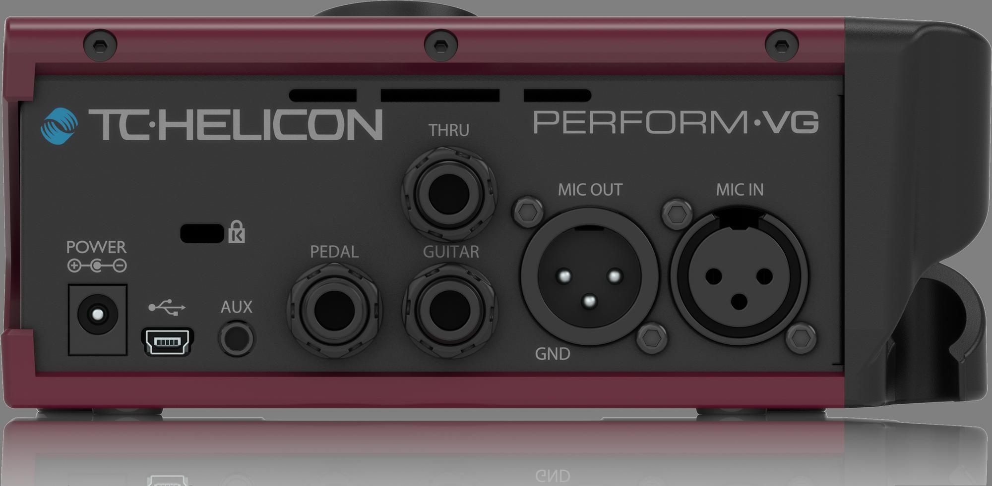 TC Helicon PERFORM VG Vocal en akoestische gitaarprocessor