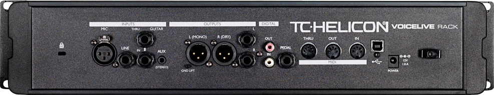 TC Helicon VOICELIVE RACK Rackmount vocale effectprocessor