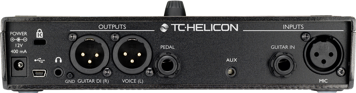 TC Helicon PLAY ACOUSTIC Vocal and Acoustic Guitar Effects Stompbox