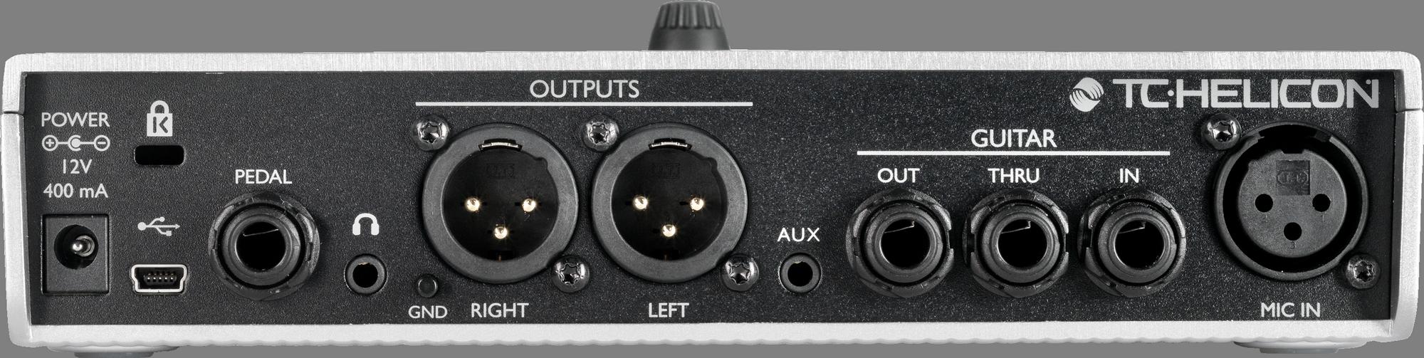 TC Helicon PLAY ELECTRIC Stompbox d'effets vocaux et de guitare