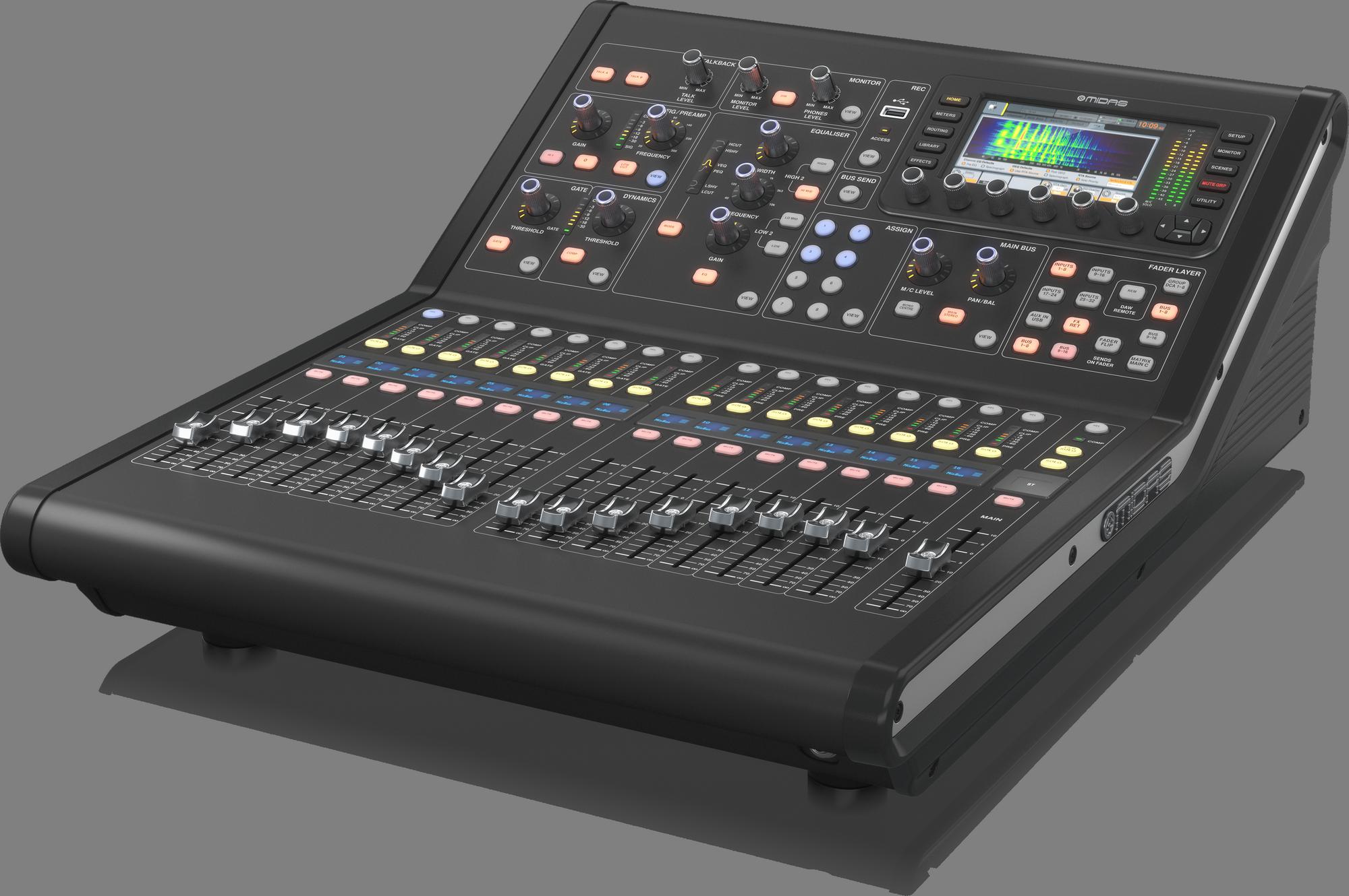 """Midas M32R LIVE """"Edition 2"""" -  Consoles De Mixage Numèriques"""