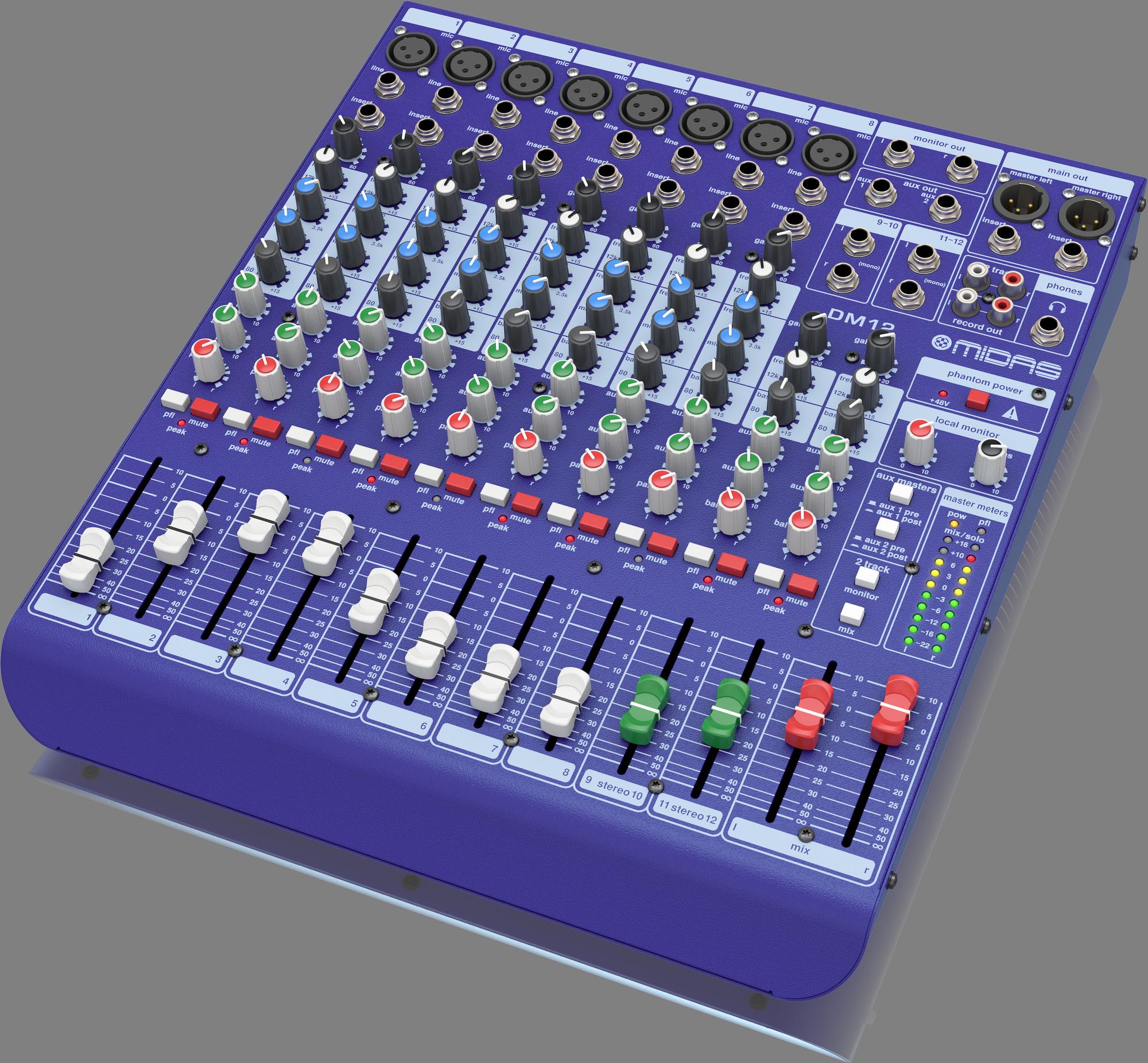 Midas DM12 Midas Analog Mixing Console