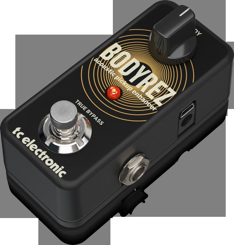 TC-Electronic BODYREZ ACOUSTIC PICKUP ENHANCER - Stompbox