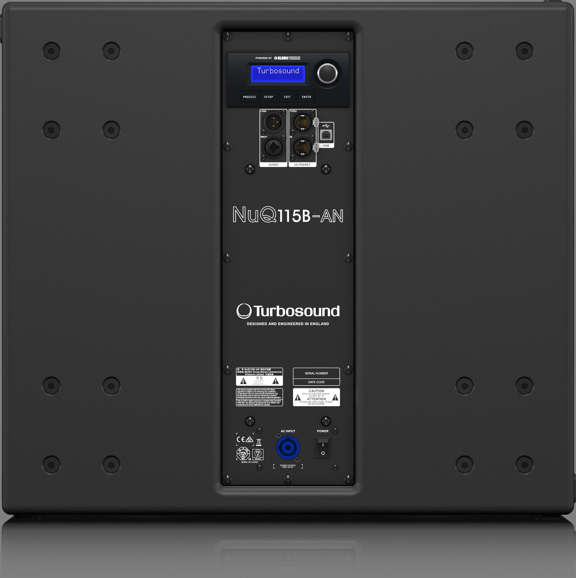 Turbosound  NUQ115B-AN - Active Subwoofer