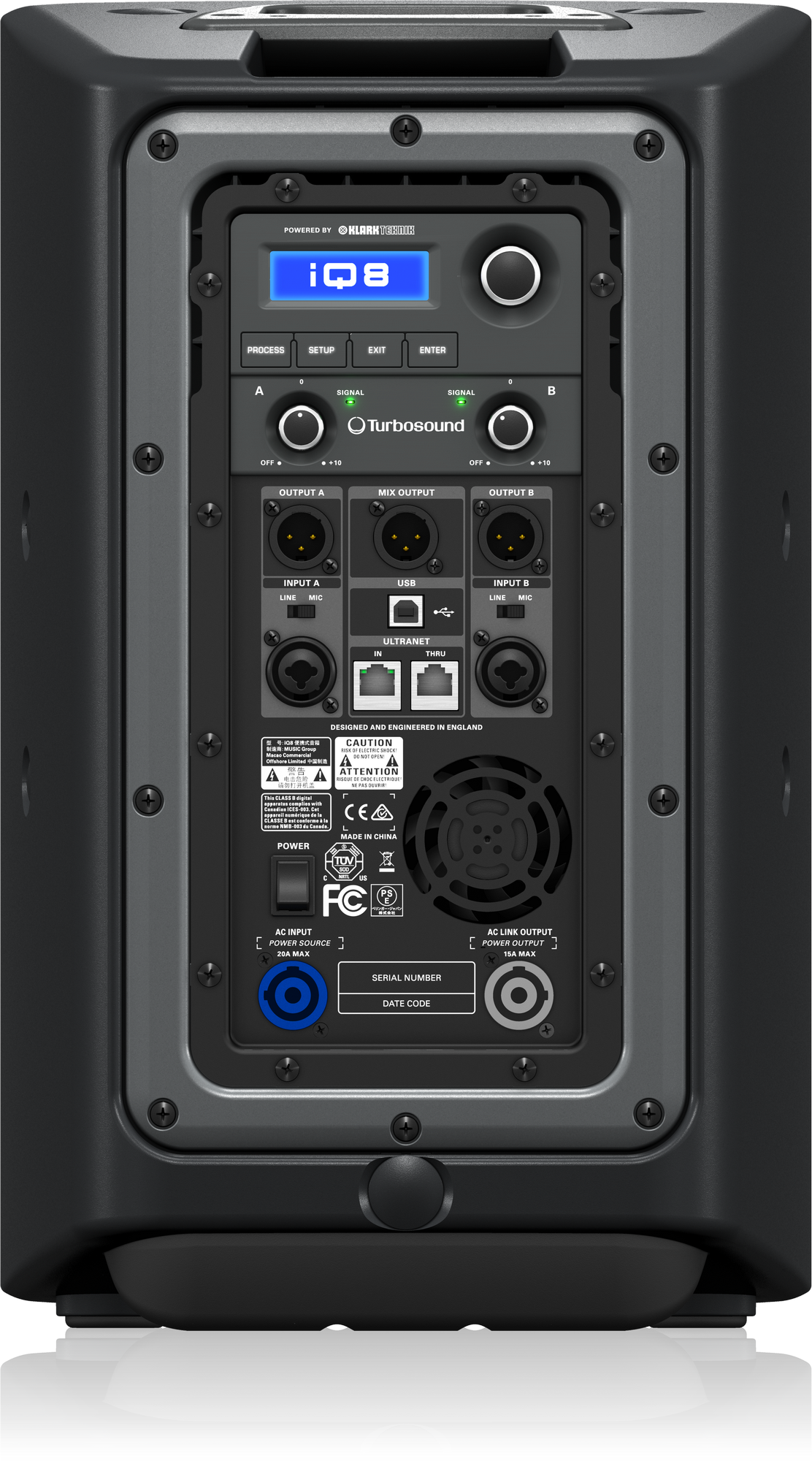 Turbosound  iQ8 - Powered Loudspeaker