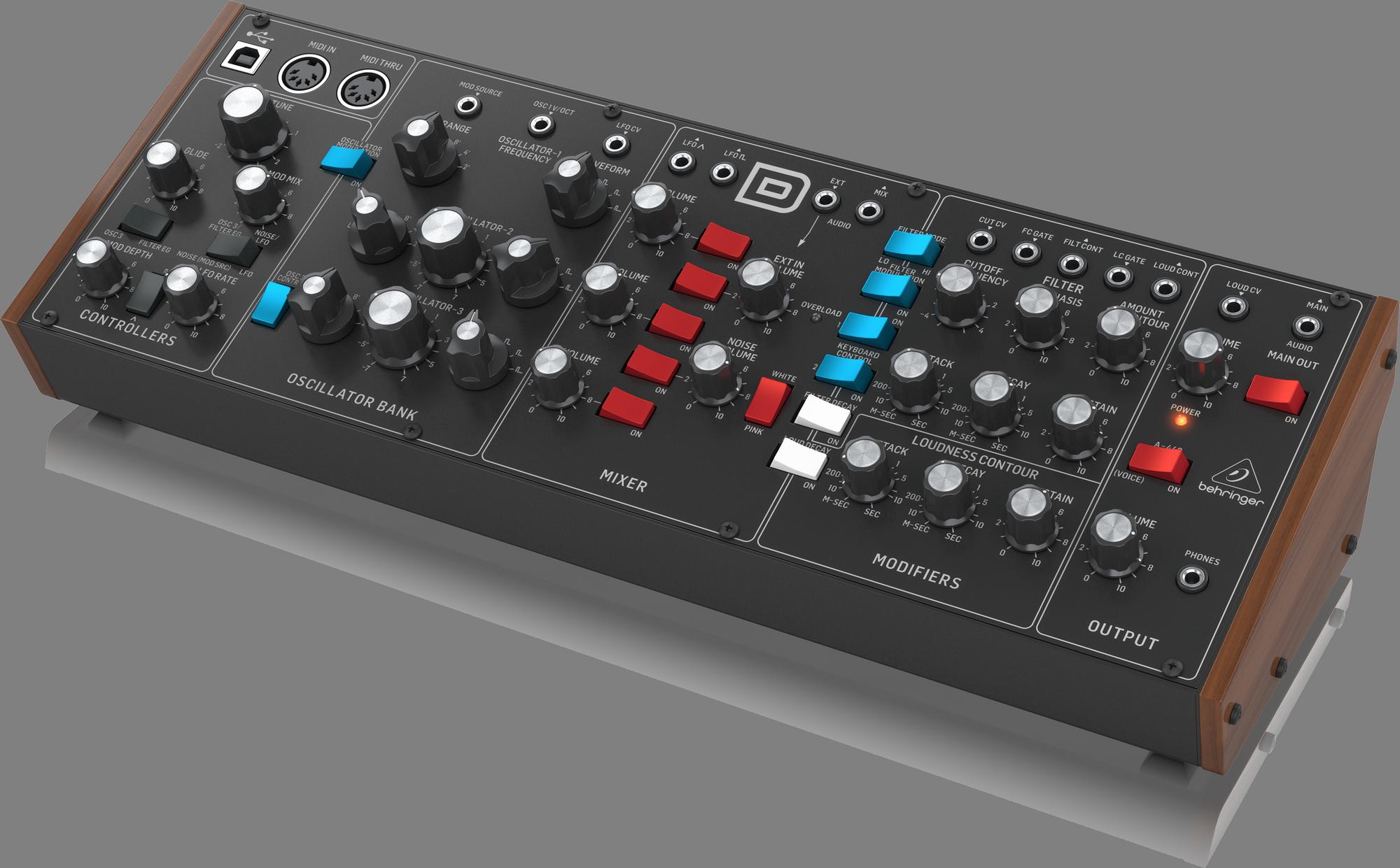 Behringer MODEL D - Analoge Synthesizer