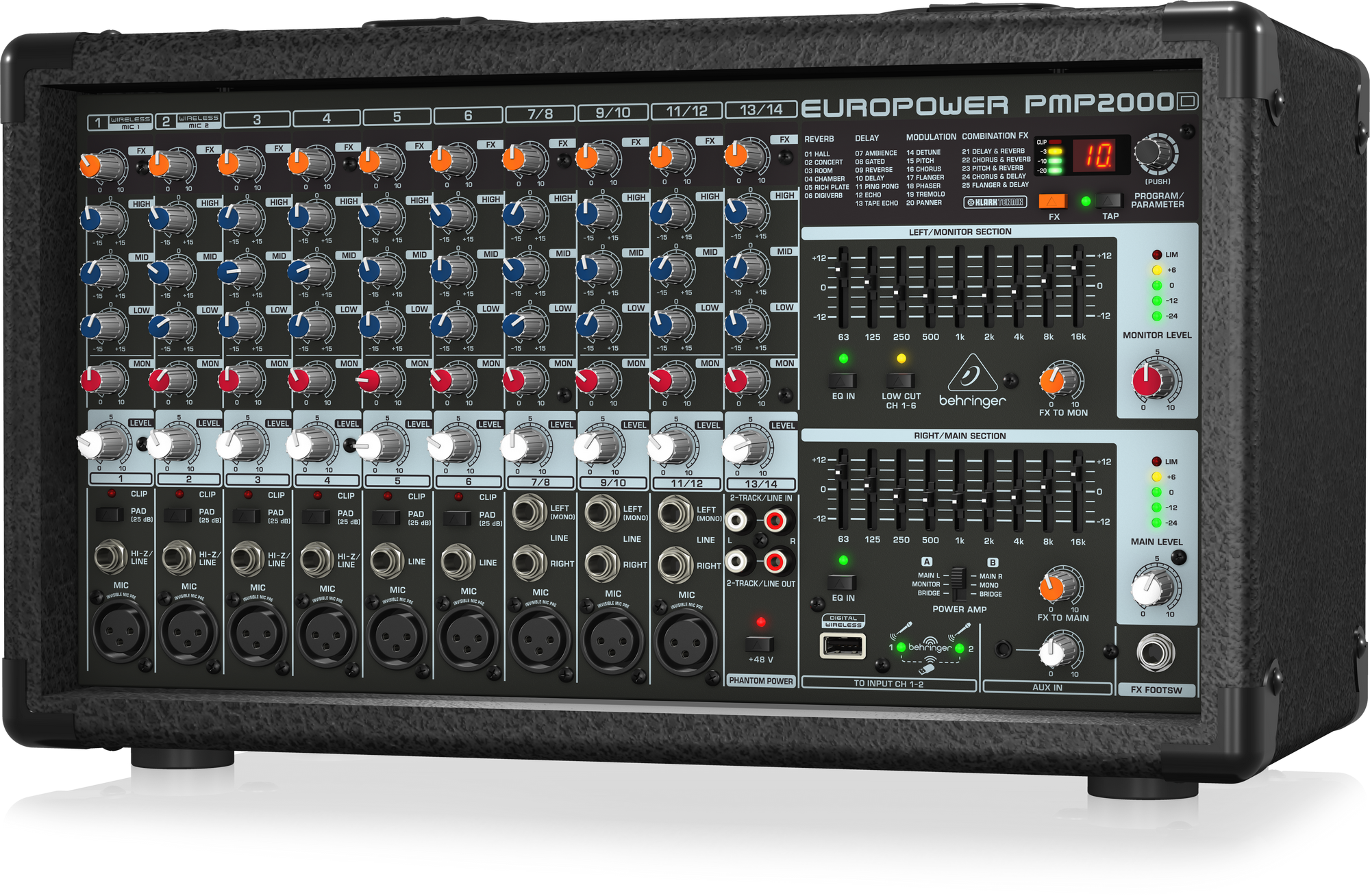 Behringer PMP2000D Console