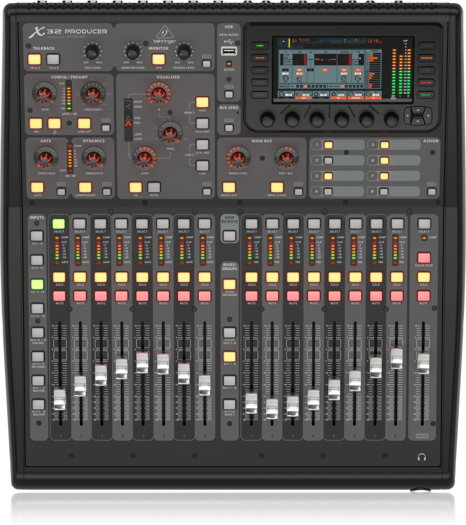 Behringer X32 PRODUCER - Digital Mixing Console