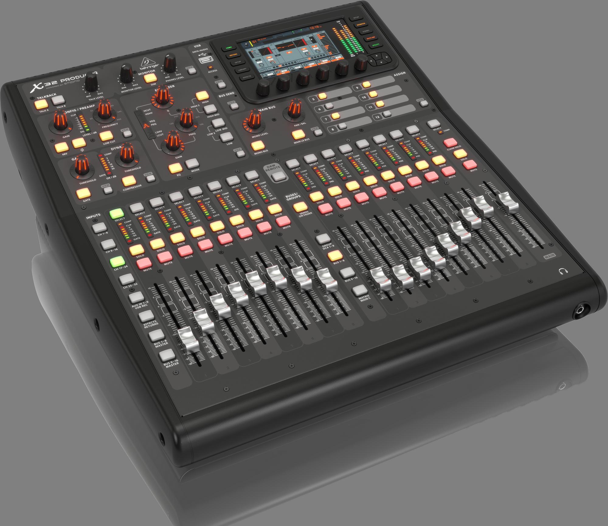 Behringer X32 PRODUCER - Digitale mengtafel