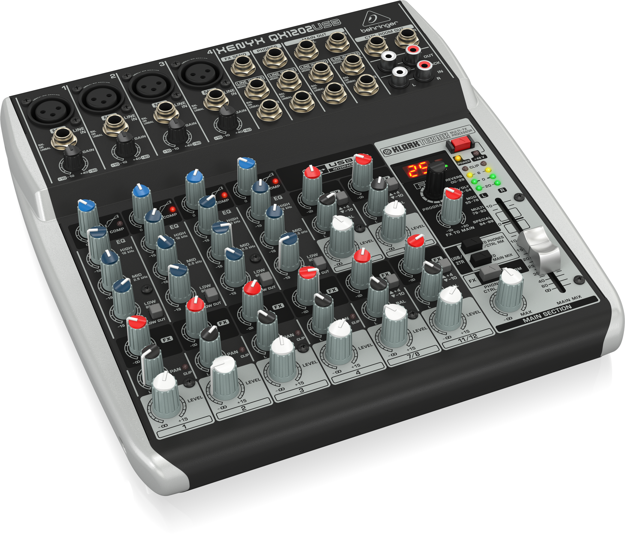 Behringer XENYX QX1202USB - Console de Mixage
