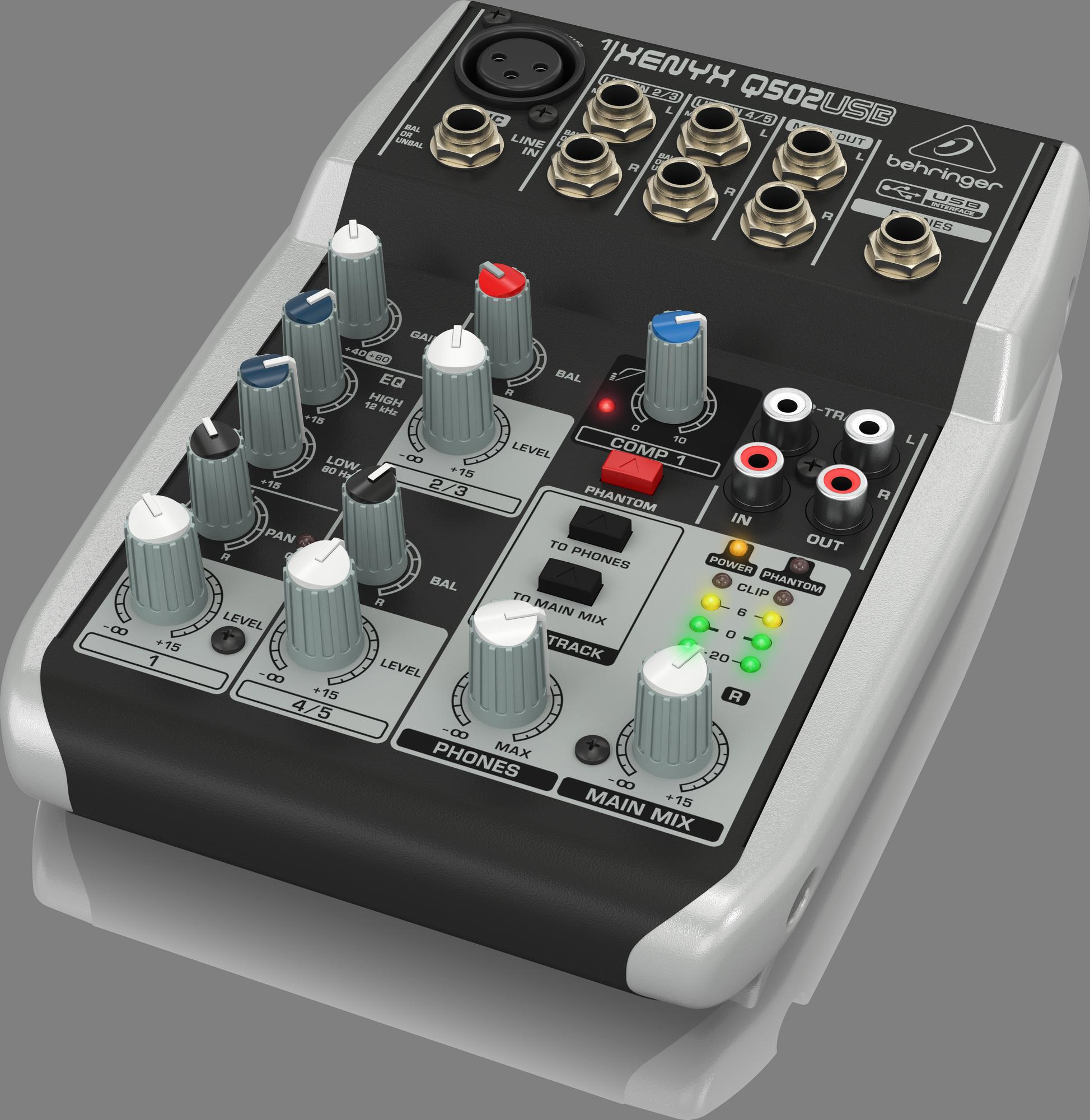 Behringer Xenyx Q502USB - Analogue Mixer