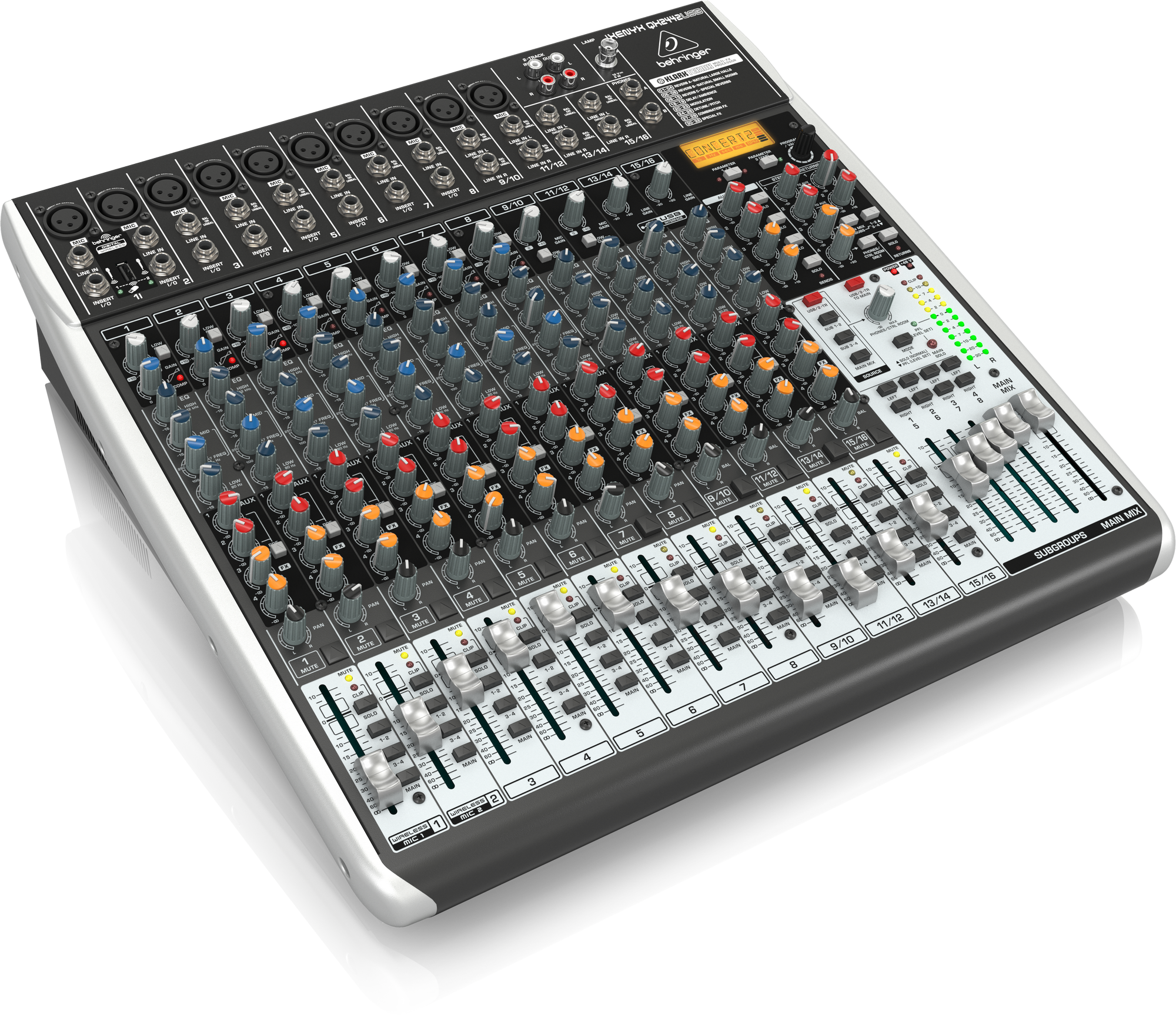 Behringer QX2442USB - Analog Mixer