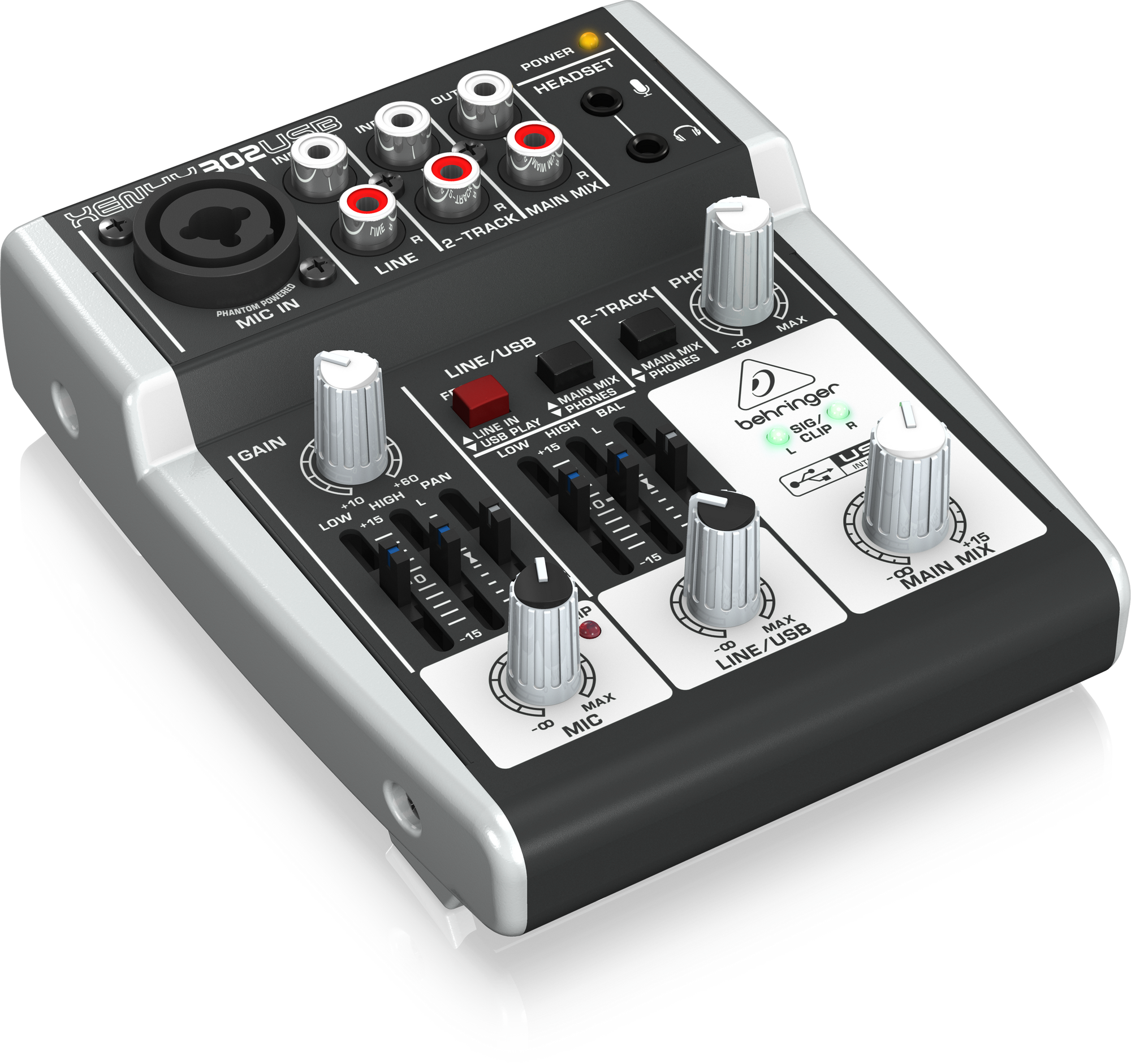 Behringer Xenyx 302USB - Table mixage analogique